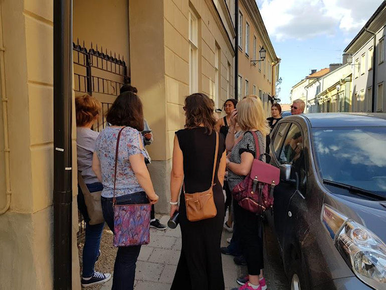 Our walking tour led by students from St Eskil's